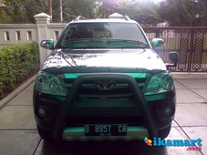 jual toyota fortuner 2.7 g lux at 2006 full option