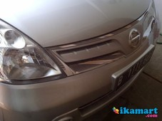 jual grand livina xv - silver automatic 2011 over kredit only