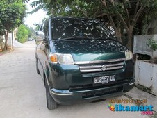 jual suzuki apv 04 05 hijau tua mtlk top condition