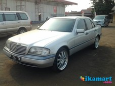 mercedes benz w202 c200 th. 1997 manual cakep
