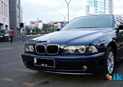 bmw 520i 2001 blue black kondisi mesin sehat tokcer