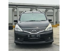 nissan grand livina hws at th 2014 warna hitam