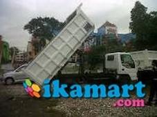 isuzu elf nkr 71 hd dump truck dp 50 juta