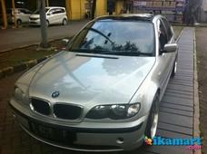 jual bmw 381i series 2002 silver
