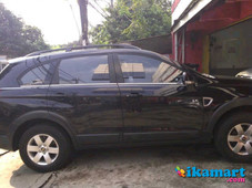 jual chevrolet captiva hitam 2.4l v6 manual 2008