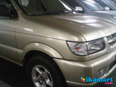 jual isuzu panther 2001 a t gold champagne good condition