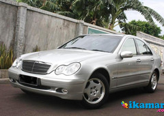 jual mercedes benz c-class c200 2002 very hard to find