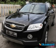 jual chevrolet captiva black 2011 m t gasoline