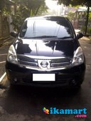 jual grand livina hitam xv 1.5 manual 2008