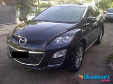 jual mazda cx 7 2011 at- hitam metalik