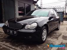 jual mercedes benz c200 w203 2002 black terawat