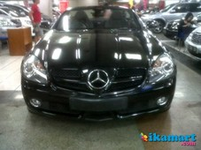 jual mercy benz slk 200 at 2009 hitam mulus good condition