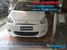 jual mitsubishi mirage exceed a t harga promo ready stock 2014