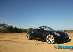 jual nissan fairlady 350z cabriolet convertible edition black surabaya