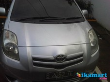 jual toyota yaris 2008 second but like new