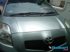jual toyota yaris s limited at silver mei 2007