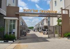 cluster setrategic lacotion sunrise residencen karya baru sutoyo kota pontianak