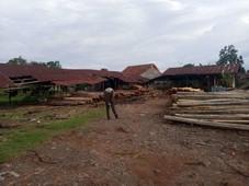 tanah 1 ha murah strategis pinggir jalan provinsi di kasemen