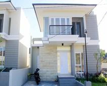 rumah mewah 2 lantai type 75 di kota mataram