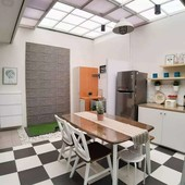 rumah design modern dekat aeon mall bsd & stasiun krl cisauk tangerang